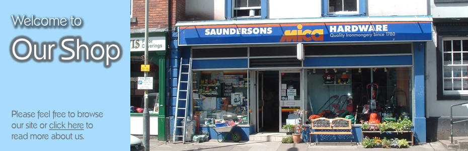 Saundersons Mica Hardware